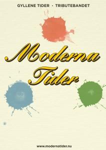 Moderna Tider poster